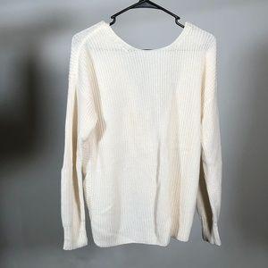 Cream Sweater from Loft